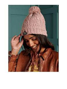 superdry-gracie-cable-beanie