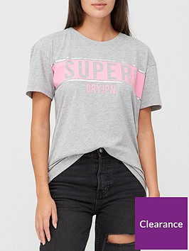 superdry-panel-t-shirt-grey