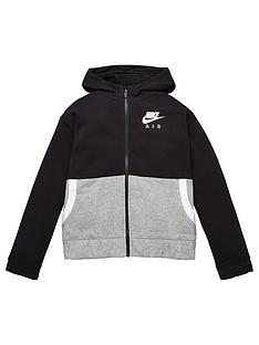 nike-girls-nsw-air-full-zipnbsphoodie-black-grey