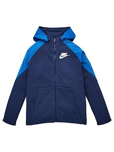 nike-boys-nsw-mixed-material-full-zip-hoodie-navy