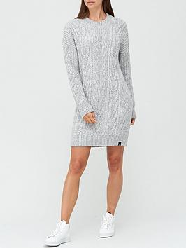 superdry-florence-cable-dress-grey