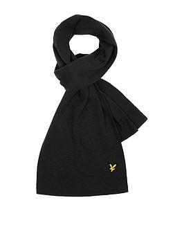 lyle-scott-scarf-black