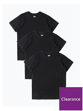hype-boys-three-pack-short-sleeve-t-shirt-black