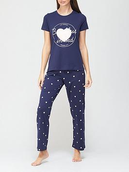 v-by-very-breakfast-in-bed-pyjamas-heart-print