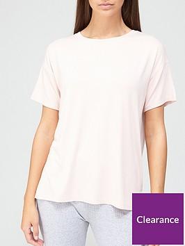 v-by-very-ath-leisurenbspdrop-shoulder-t-shirt-blush