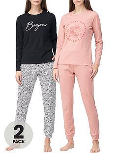v-by-very-valuenbsp2-pack-standard-pyjamas-animal-print