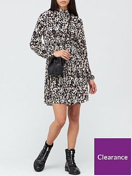 v-by-very-long-sleeve-curve-seam-waist-mini-dress-animal