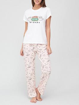 friends-central-perk-pyjamas-print