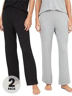 v-by-very-mix-amp-matchnbsp2-pack-lace-trim-trouser-multi