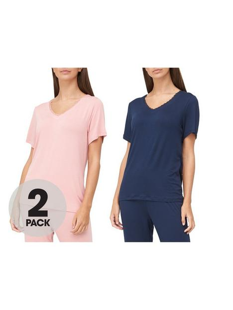v-by-very-valuenbsp2-pack-lace-trim-t-shirts