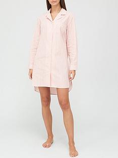 v-by-very-button-through-nightdress-stripe