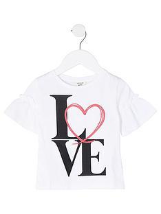 river-island-mini-girls-love-print-flute-t-shirt--nbspwhite
