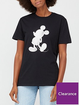 v-by-very-foil-print-mickey-graphic-t-shirt-black