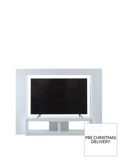 atlanticnbsptvnbspcabinet-with-led-lights-white-glossnbsp--fits-up-to-65-inch-tv