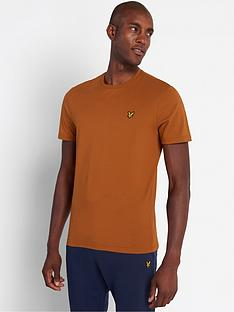 lyle-scott-plain-t-shirt-caramel