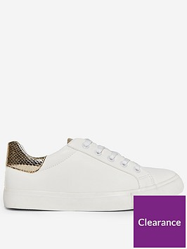dorothy-perkins-wide-fit-inky-snake-back-tab-trainers-whitegold