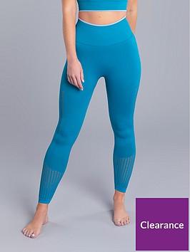 boux-avenue-jacquard-textured-legging-teal