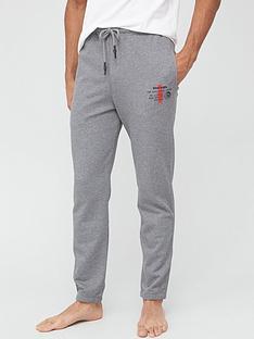 diesel-lounge-joggers-grey