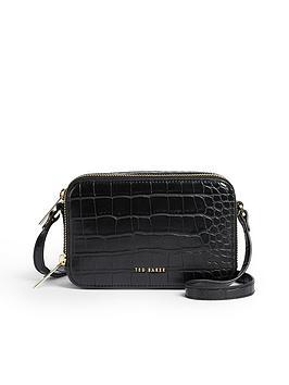 ted-baker-double-zip-mini-camera-bag-black