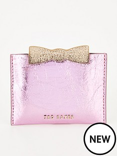 ted-baker-slotted-bow-credit-card-holder-pink