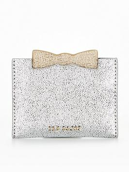 ted-baker-slotted-bow-credit-card-holder-silver