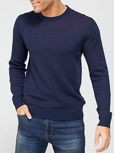 ted-baker-trial-jacquard-spot-knitted-jumper-navynbsp