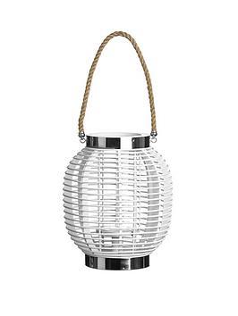 premier-housewares-white-altar-lantern