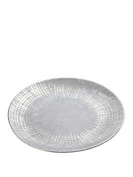 premier-housewares-embra-round-ceramic-plate