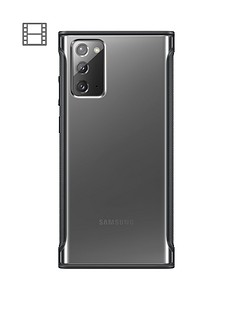 samsung-note20-clear-protective-cover--nbspblack