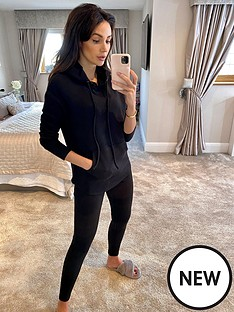 michelle-keegan-textured-jogger-co-ord-black