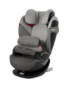 cybex-pallas-s-fix-group-123-safety-cushion-car-seat-soho-grey