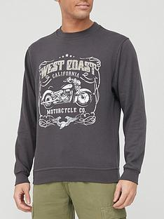 very-man-printed-crew-sweatshirt-black