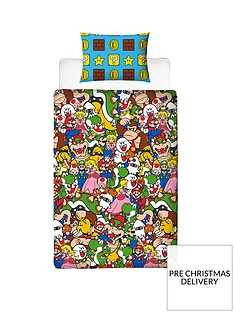 mario-gang-single-duvet-cover-set