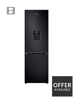 samsung-prb34t632ebneu-frost-free-fridge-freezer-a-with-spacemaxtrade-and-non-plumbed-water-dispenser--nbspblackp