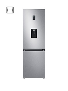 samsung-rb34t652esaeu-silver-frost-free-fridge-freezer-a-with-spacemaxtrade-and-non-plumbed-water-dispenser--nbspsilver