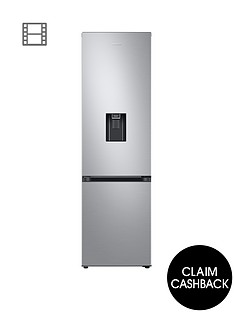 samsung-rb38t633esa-frost-free-fridge-freezer-a-with-optimal-fresh-amp-non-plumbed-water-dispenser--nbspsilver