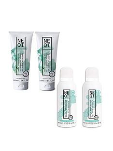 neqi-bundle-2-hand-cleansing-gels-100ml-amp-2-foaming-hand-soaps