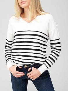 v-by-very-v-neck-button-shoulder-stripe-knitted-jumper-stripe
