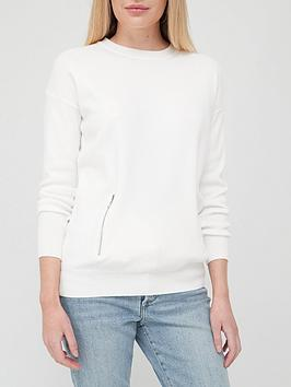 v-by-very-seam-zip-knitted-jumper-ivory