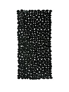 premier-housewares-black-pebble-bath-mat