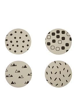 premier-housewares-mimo-eclectic-allsorts-coasters-set-of-4