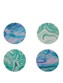 premier-housewares-mimo-marble-wave-coasters-set-of-4