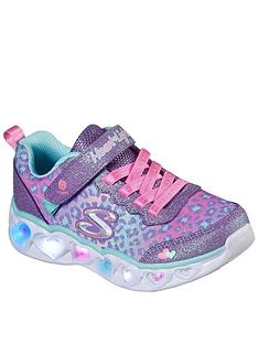 skechers-girlsnbspheart-lights-shimmer-spots-trainer-lilac