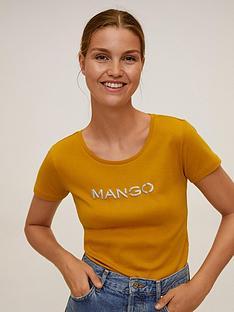 mango-logo-basic-t-shirt-yellow