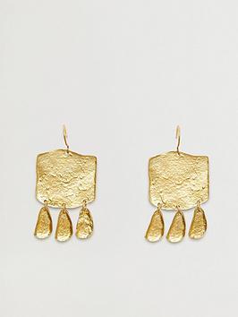 mango-tribal-earrings-gold