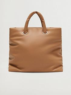 mango-fauxnbspleather-tote-bag-brown