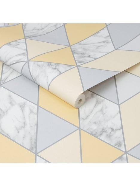 sublime-marble-geo-yellow-wallpaper