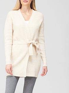 v-by-very-tie-waist-knitted-longlinenbspcardigan-ivory