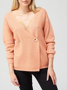 v-by-very-double-buttonnbspwrap-knitted-cardigan-rose-pink