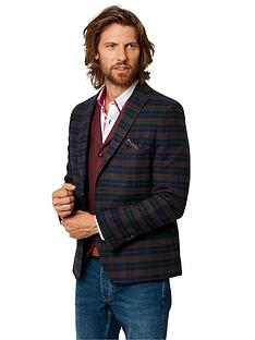 joe-browns-confident-check-blazer-navy